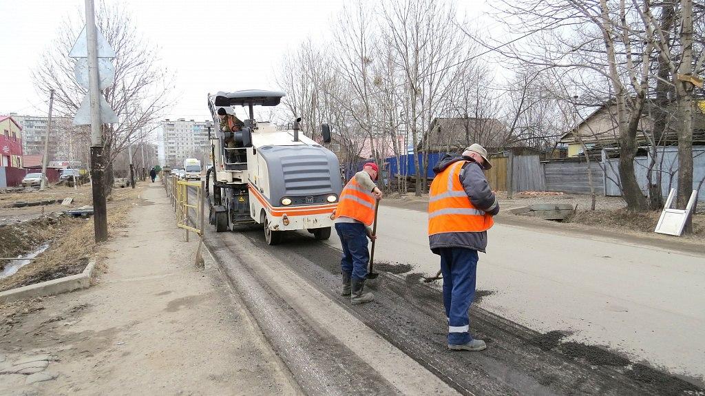 Хабаровские дорожники разворачивают масштабный фронт работ