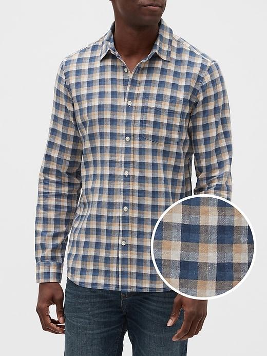 Linen-Cotton Shirt