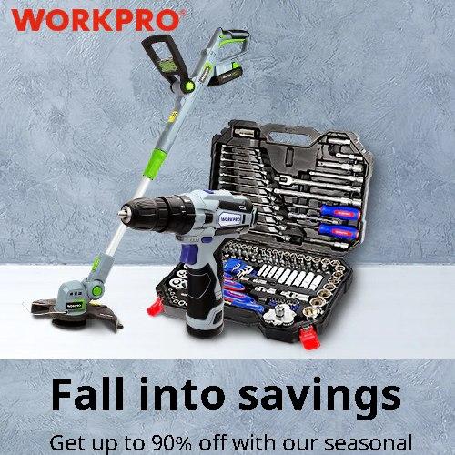 WORKPRO FALL into savings
