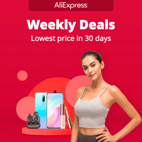 Weekly Deals Lowest price in 30 days