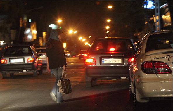 تنفروشی در تهران کرونا زده