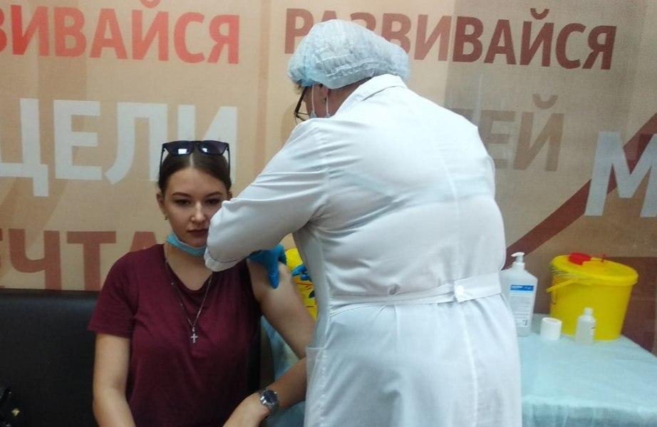 Новый кабинет вакцинации открылся в Хабаровске по инициативе предпринимателей