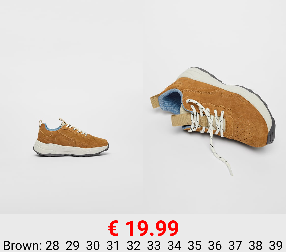 SOFT LEATHER SNEAKERS - LIMITED EDITION