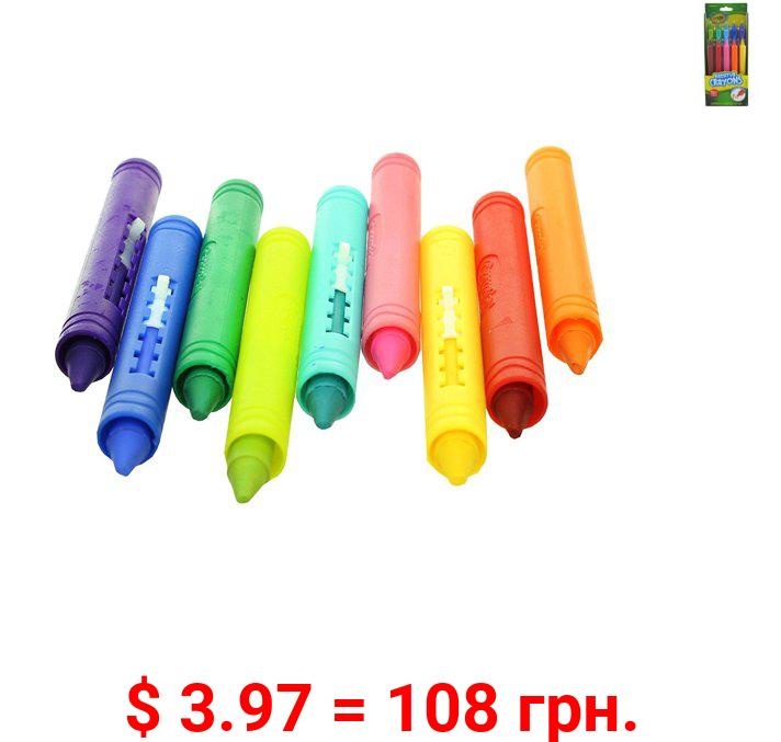 Crayola Bath Crayons Non-Toxic (9 Count)