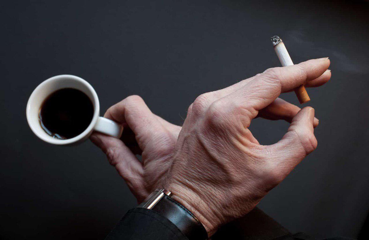 Картинки кофе с сигаретой со словами, инь