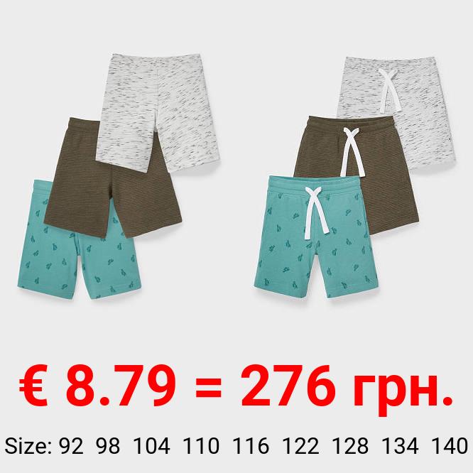 Multipack 3er - Sweatshorts