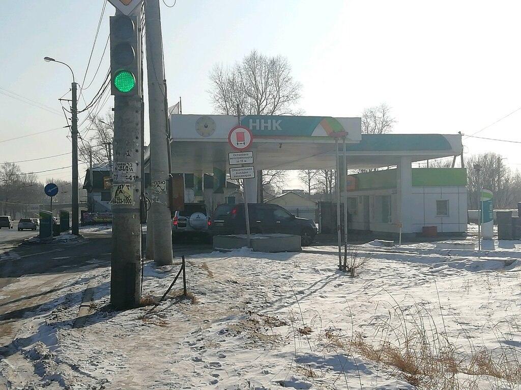 Дефицит бензина на заправках Хабаровска