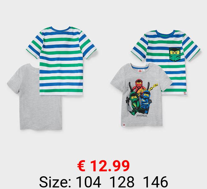 Multipack 2er - Lego Ninjago - Kurzarmshirt