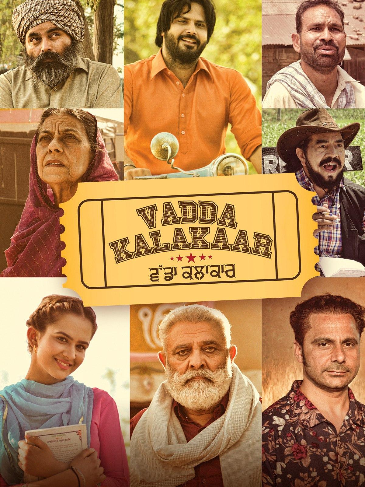 Vadda Kalakaar (2018) Punjabi 720p HEVC HDRip x265 AAC ESubs Full  (750MB) Full Movie Download
