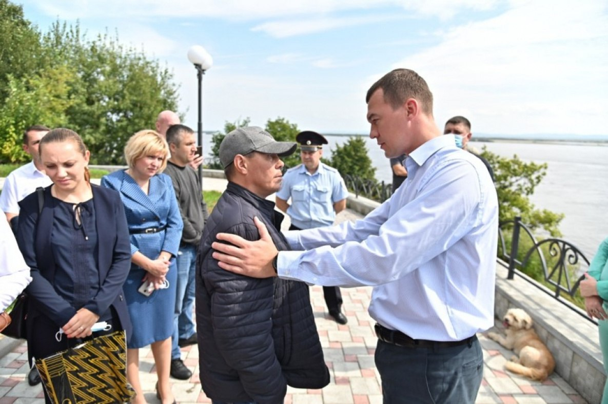 Дегтярев поздравил Хабаровск с Днем города