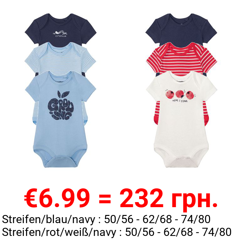 LUPILU® 3 Baby Bodys