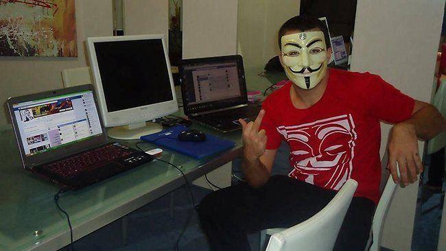 Открыток, смешная картинка хакер