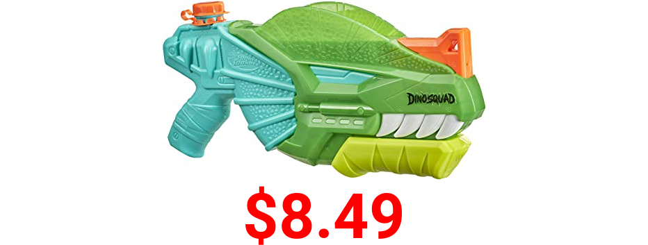 Nerf Super Soaker DinoSquad Dino-Soak Water Blaster - Pump-Action Soakage for Outdoor Summer Water Games - for Youth, Teens, Adults