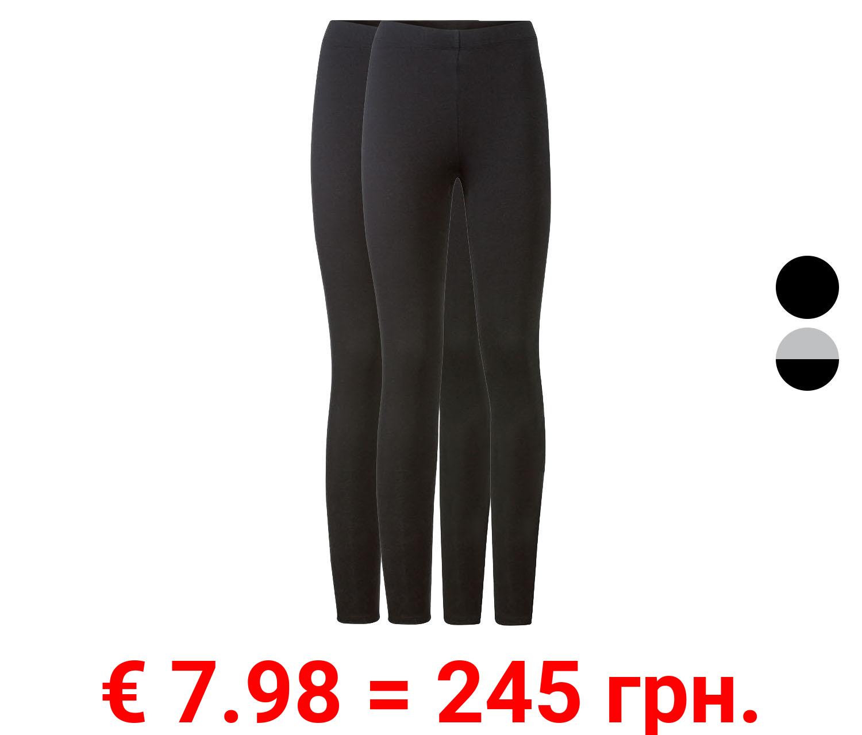 ESMARA® Leggings Damen, 2 Stück
