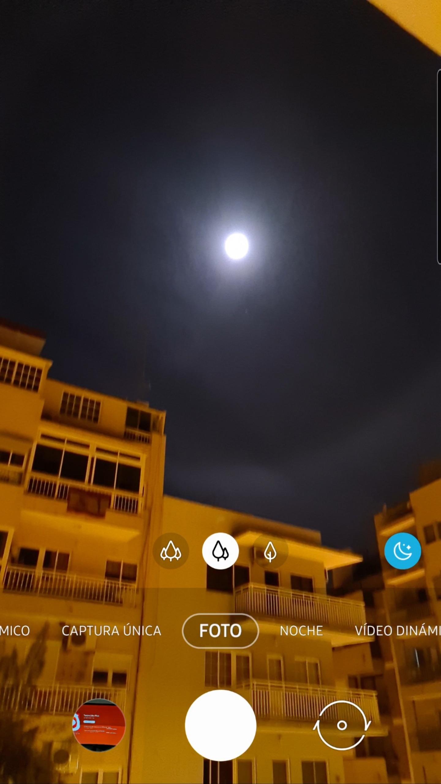 Galaxy S20 Ultra captura de pantalla