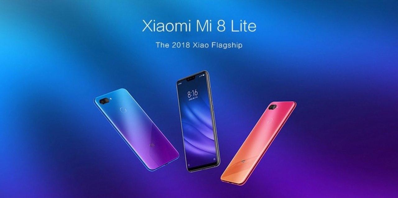 ?Xiaomi Mi 8 Lite (4/128) – GearBest