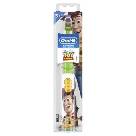 Oral-B Disney Pixar Toy Story Kids Battery Toothbrush, Soft Bristles