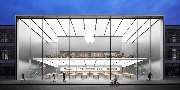Apple se desploma en China