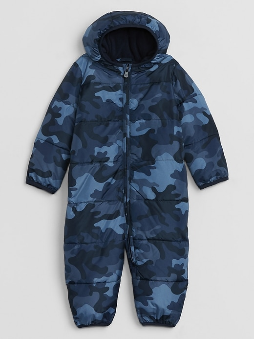 Baby Puffer One-Piece Jacket
