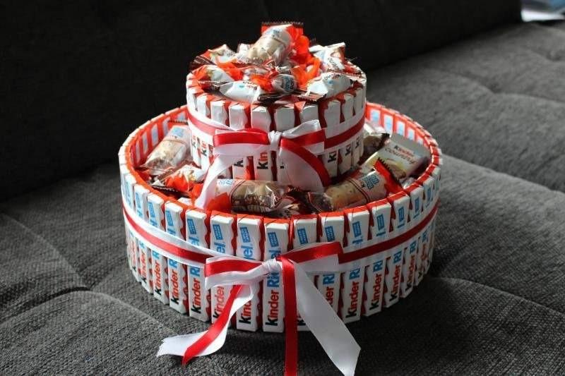 Как сделать сладкий креативный торт фото