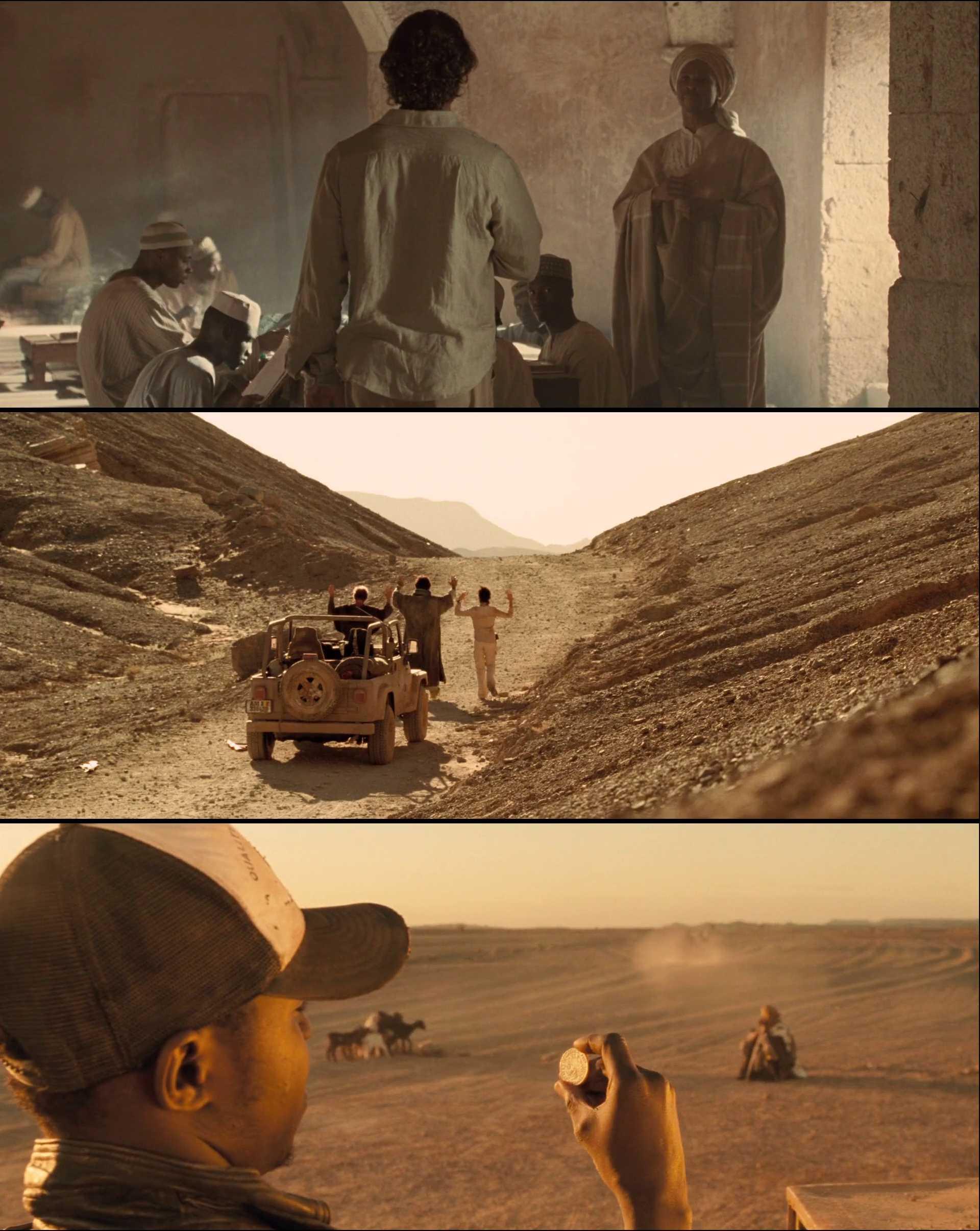 Screenshot of Sahara Movie