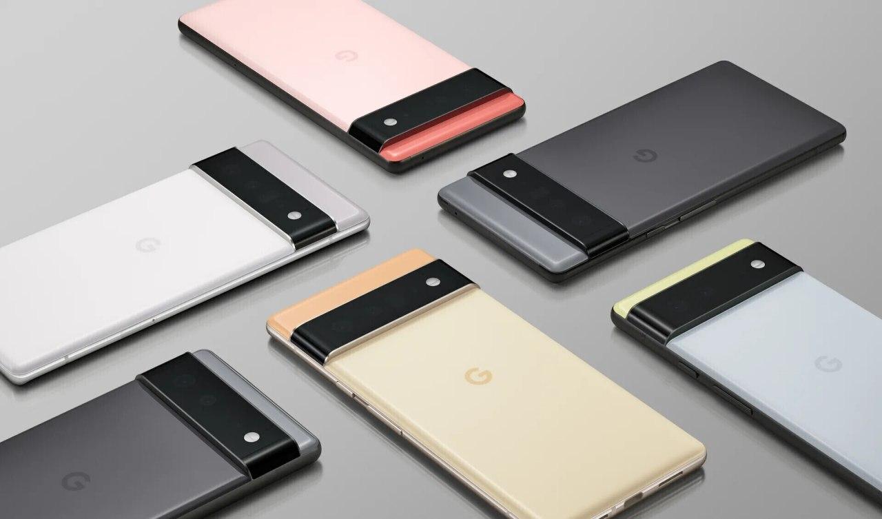Pixel 6 и Pixel 6 Pro от Google