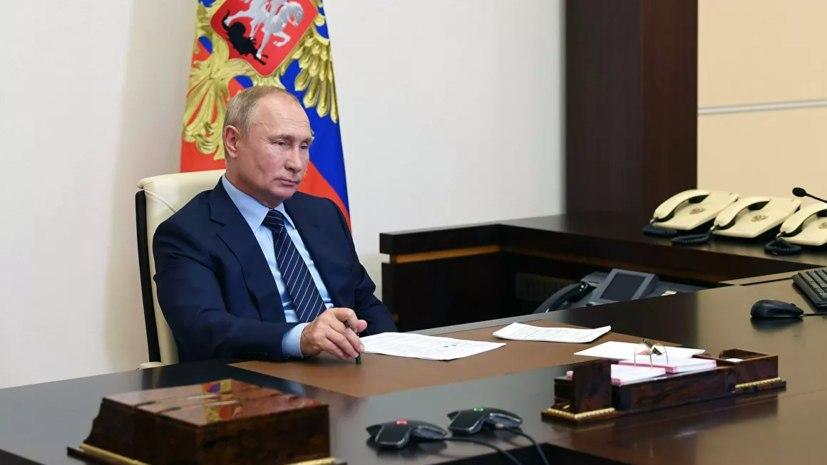 Путин рассказал о разработки вакцины от коронавируса