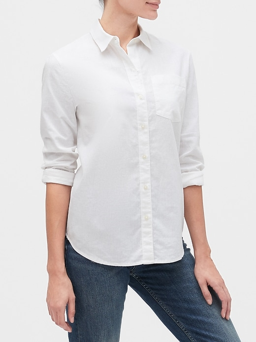 Long Sleeve Boyfriend Shirt