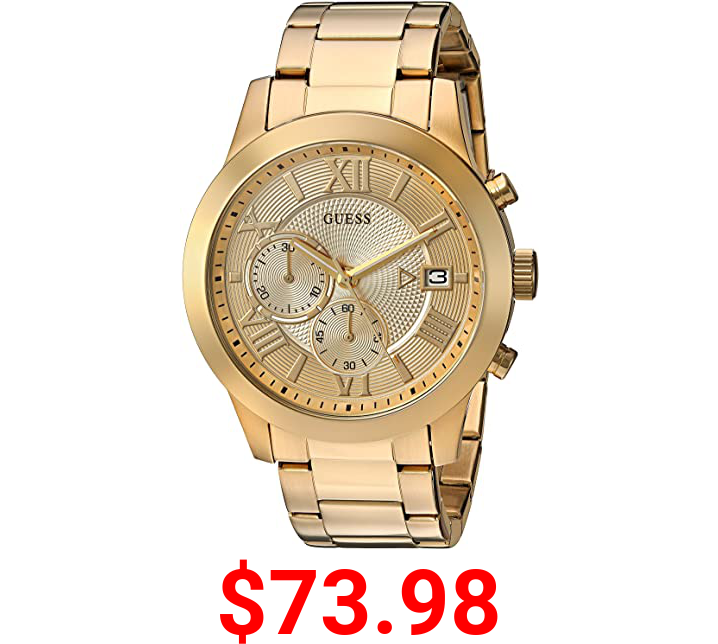 Guess 45MM Stainless Steel Watch