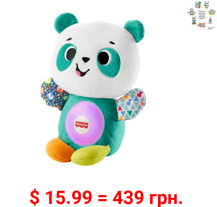 Fisher-Price Linkimals Play Together Panda Musical Plush