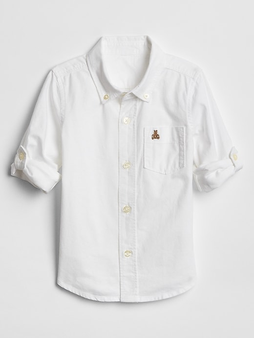 Toddler Oxford Convertible Shirt