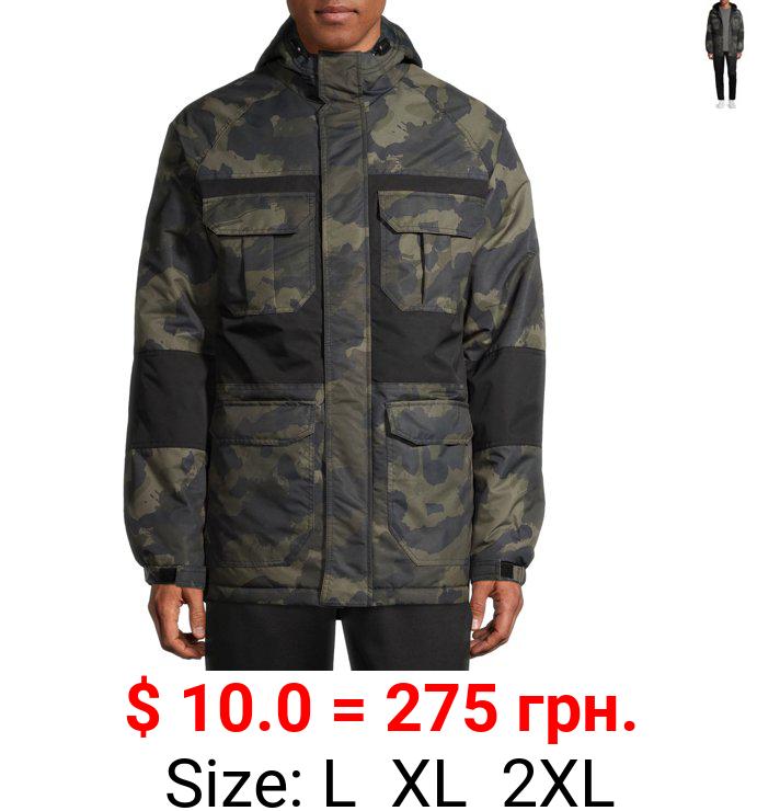SwissTech Men's Ski/Snowboard Heavyweight Camo Block Jacket