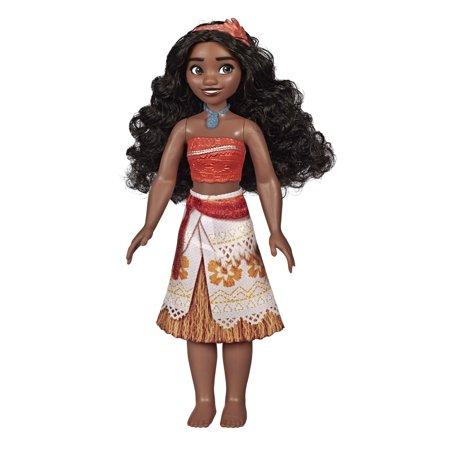 Disney Princess Moana with Skirt That Sparkles, Headband, Necklace