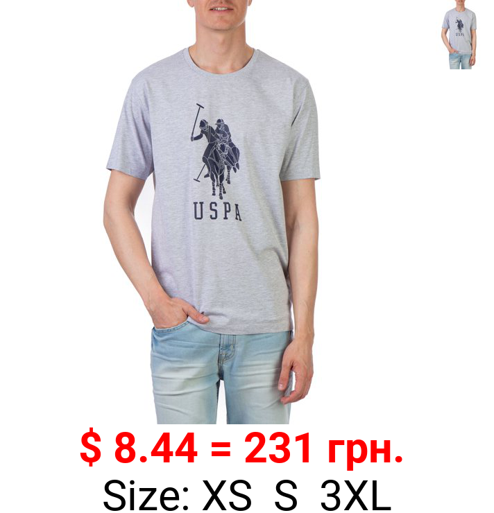 U.S. Polo Assn. Men's Short Sleeve Graphic Jersey T-Shirt