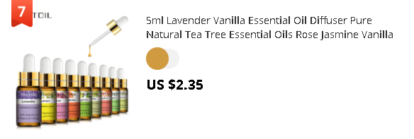 5ml Lavender Vanilla Essential Oil Diffuser Pure Natural Tea Tree Essential Oils Rose Jasmine Vanilla Mint Lemon Shea Butter Oil