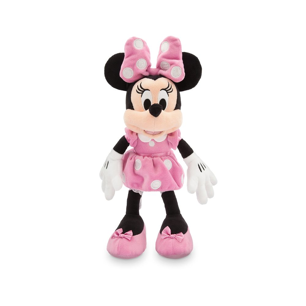 Minnie Mouse Plush – Pink – Small – 14''