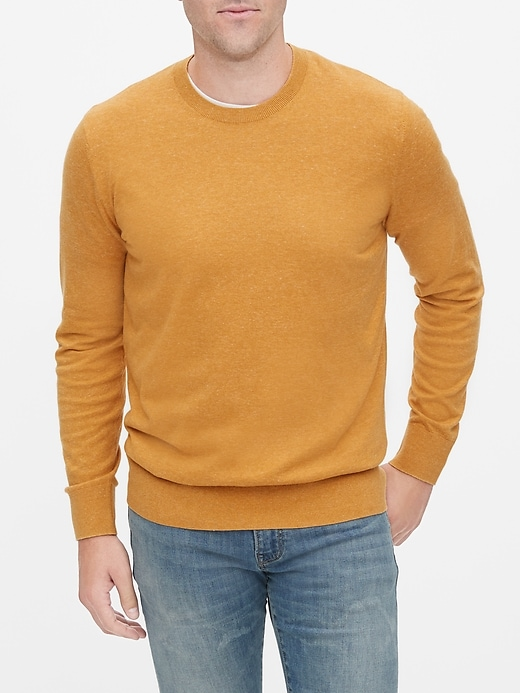Knit Pullover Crewneck Sweater