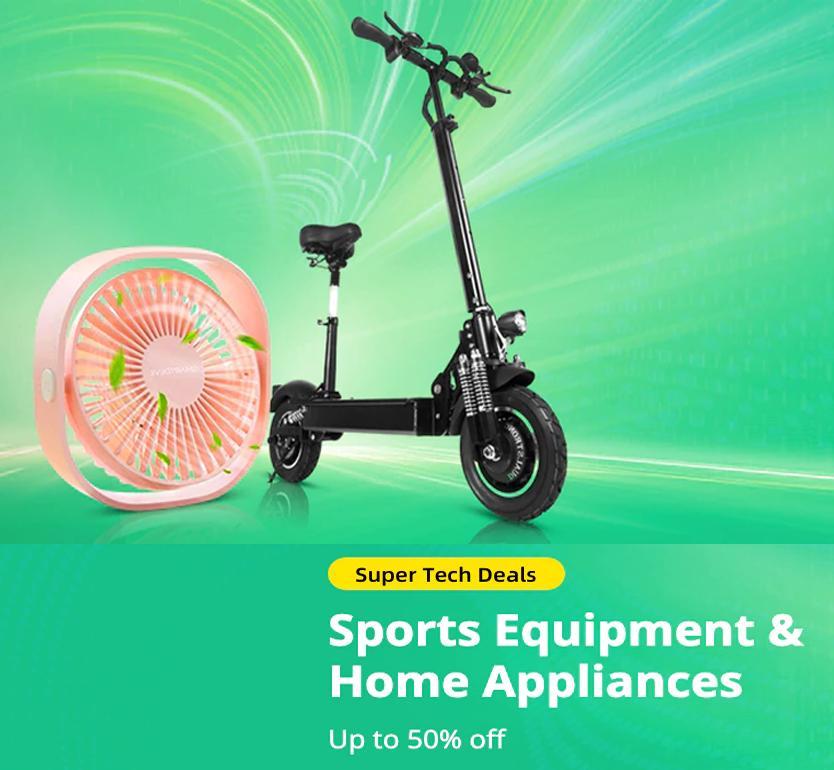 Super Tech Deals: Sports Equipment