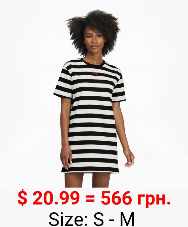 Summer Stripes Women's AOP Dress