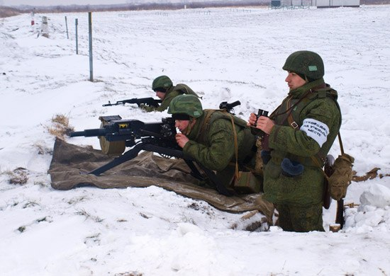 Военные сборы гранатометчиков проходят в Хабаровском крае