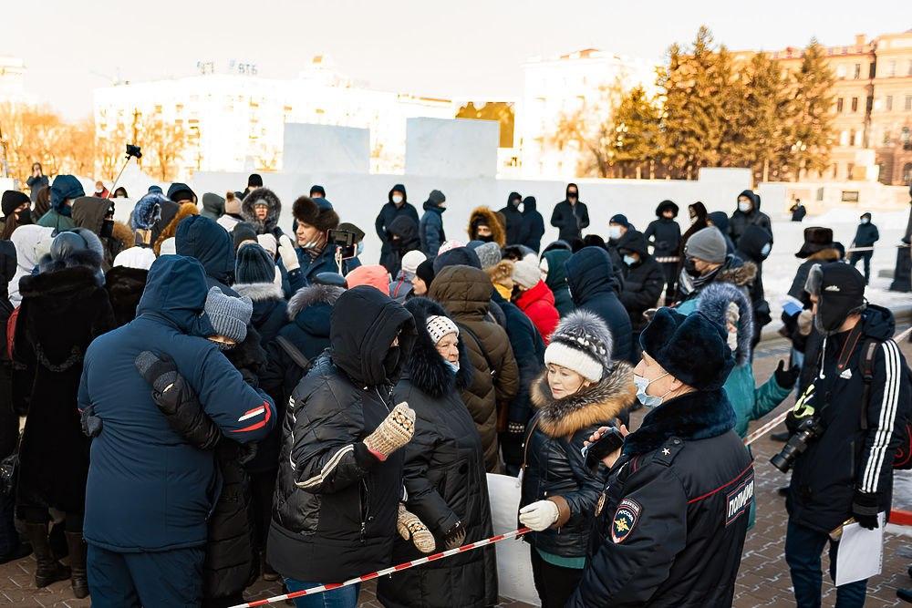 Суд вХабаровске арестовал двух задержанных участников акций вподдержку Сергея Фургала