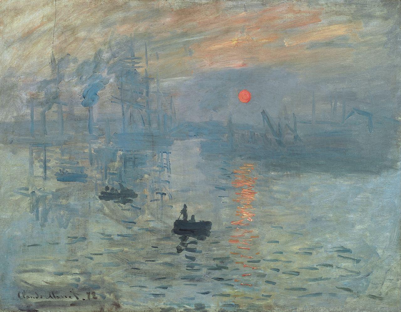 Обои Клод Моне, Пейзаж, картина, Сена возле Ветей. Бурная Погода. Разное foto 8