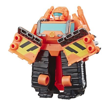 Playskool Transformers Rescue Bots Academy Wedge the Construction-Bot