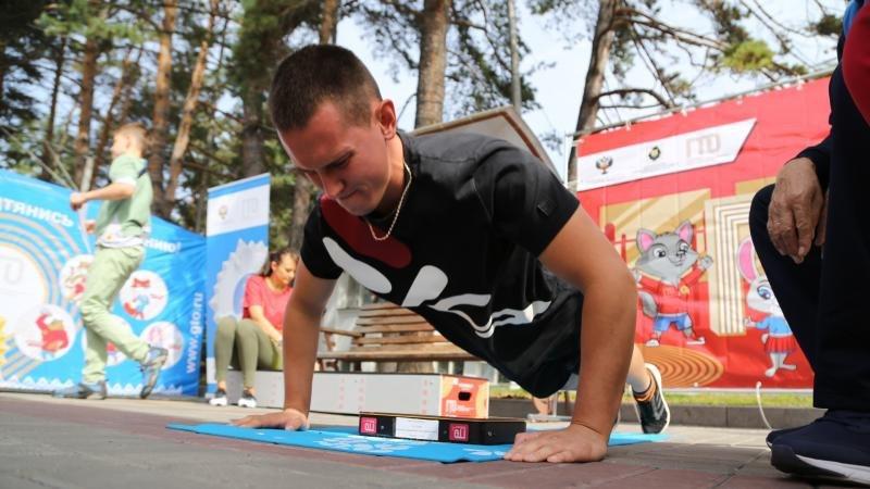 """Хабаровчан приглашают присоединиться ко Всероссийской акции """"Я выбираю спорт"""""""
