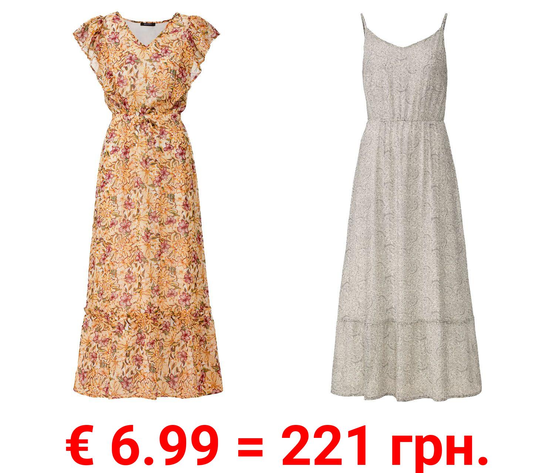 ESMARA® Kleid Damen, im Boho-Stil