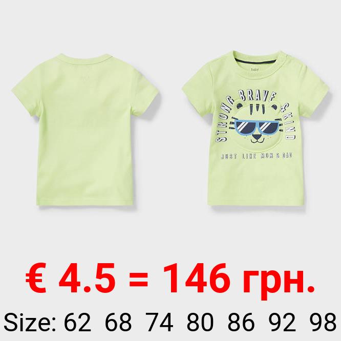 Baby-Kurzarmshirt - Bio-Baumwolle
