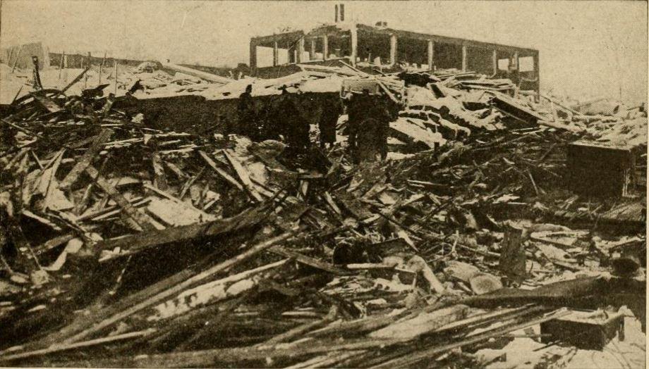В Галифаксе перед началом спасательных работ
