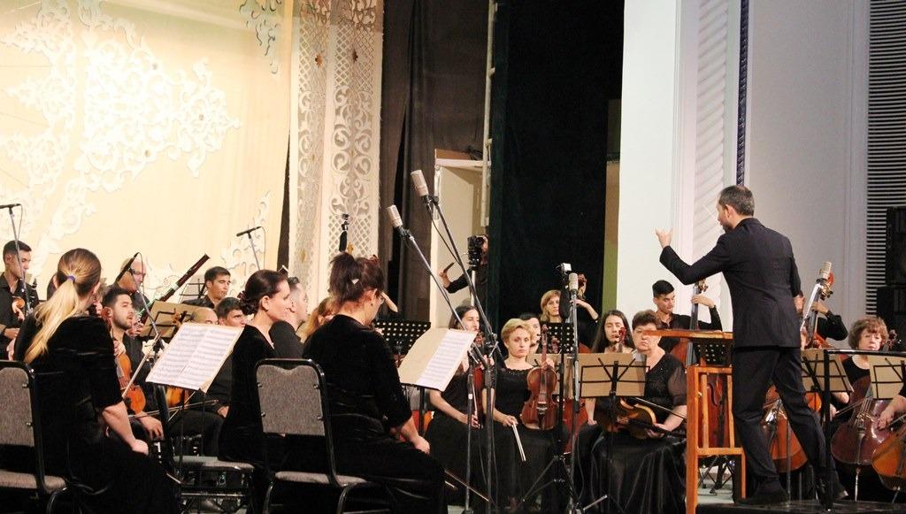 Вечер Мендельсона в Государственной консерватории Узбекистана.