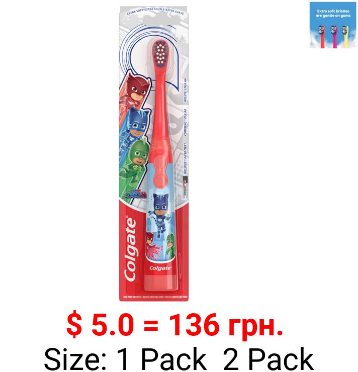 Colgate Kids Battery Powered Toothbrush, PJ Masks