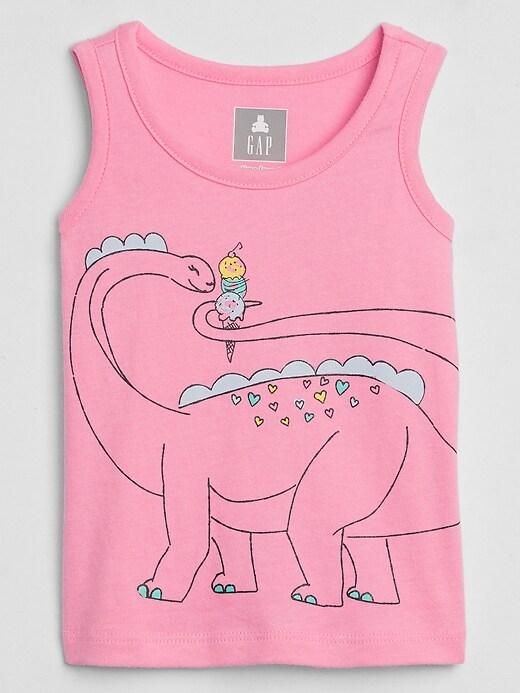 Toddler Graphic Sleeveless T-Shirt
